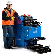 Terminator surface stripping machines - carpet and tile removal